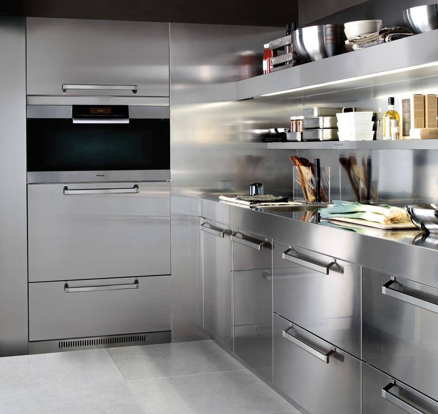 Cucine In Acciaio Componibili.Convivium Prodotti Arclinea