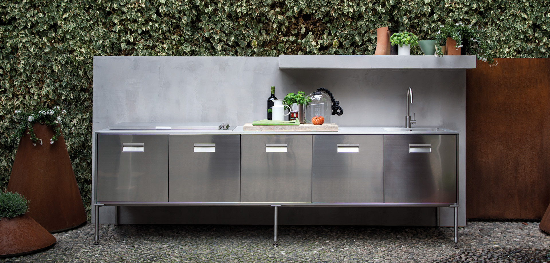 OUTDOOR KITCHENS, Models - Arclinea