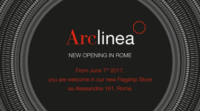 Arclinea new opening in Rome