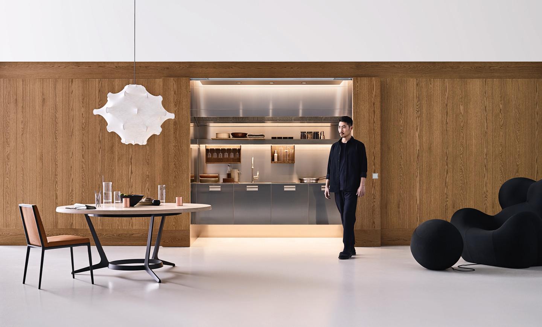 Boiserie Da Cucina : La cucina celata design concept arclinea