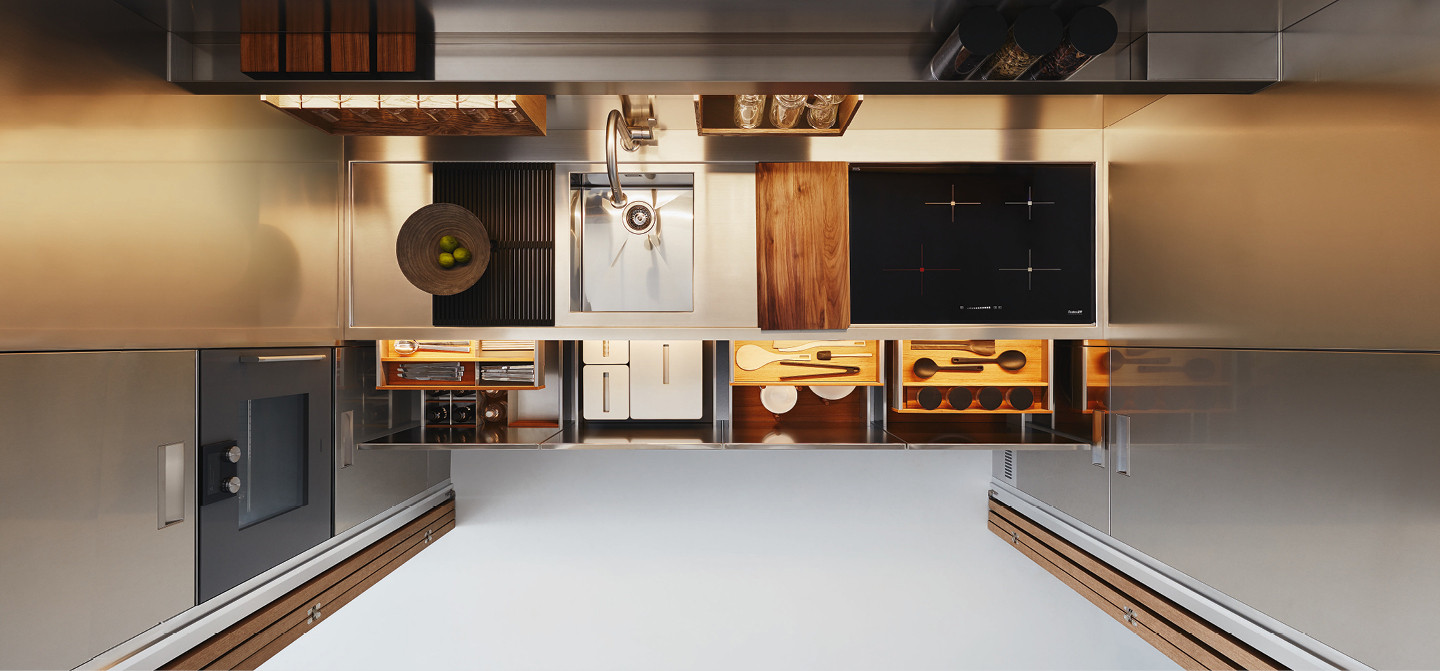 Redifining the Kitchen Space, Design Concept - Arclinea