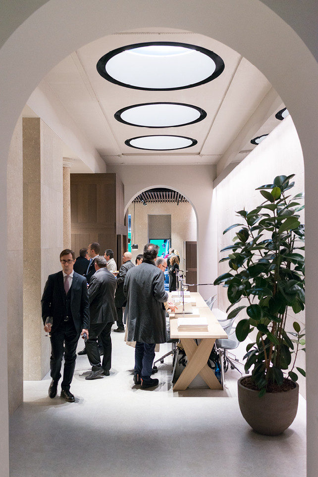 News opening party arclinea flagship store via durini for Via durini 4 milano