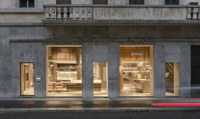 Arclinea flagship store - via Durini 7, Milano