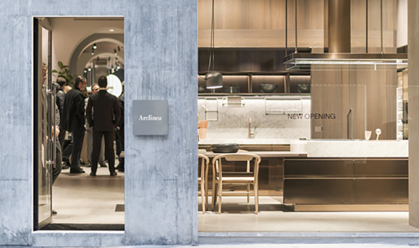 Opening Party - Arclinea flagship store - via Durini 7, Milano