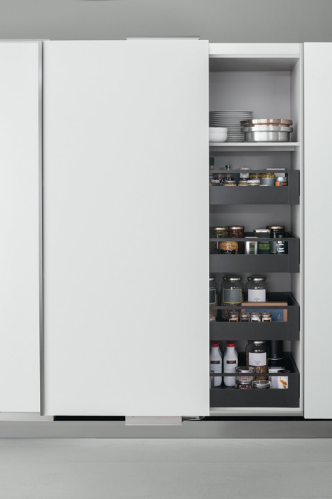Mobile Dispensa Cucina Con Ante Scorrevoli.Internal Accessories Products Arclinea